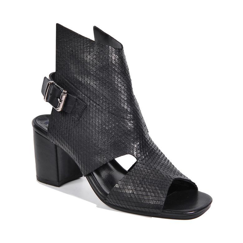 Ignis Kadın Deri Bootie Sandalet