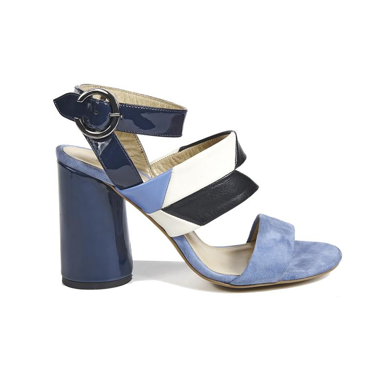 Arianna Kadın Deri Topuklu Sandalet
