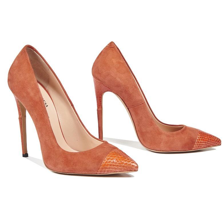 Townley Kadın Klasik Süet Ayakkabı 2010043577013