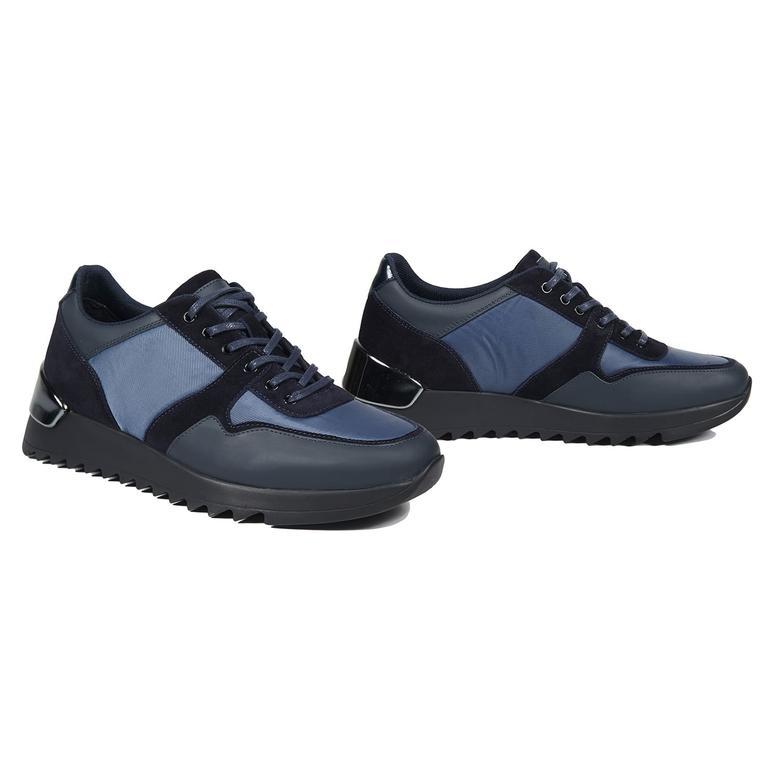 Casson Erkek Deri Sneaker 2010043738012