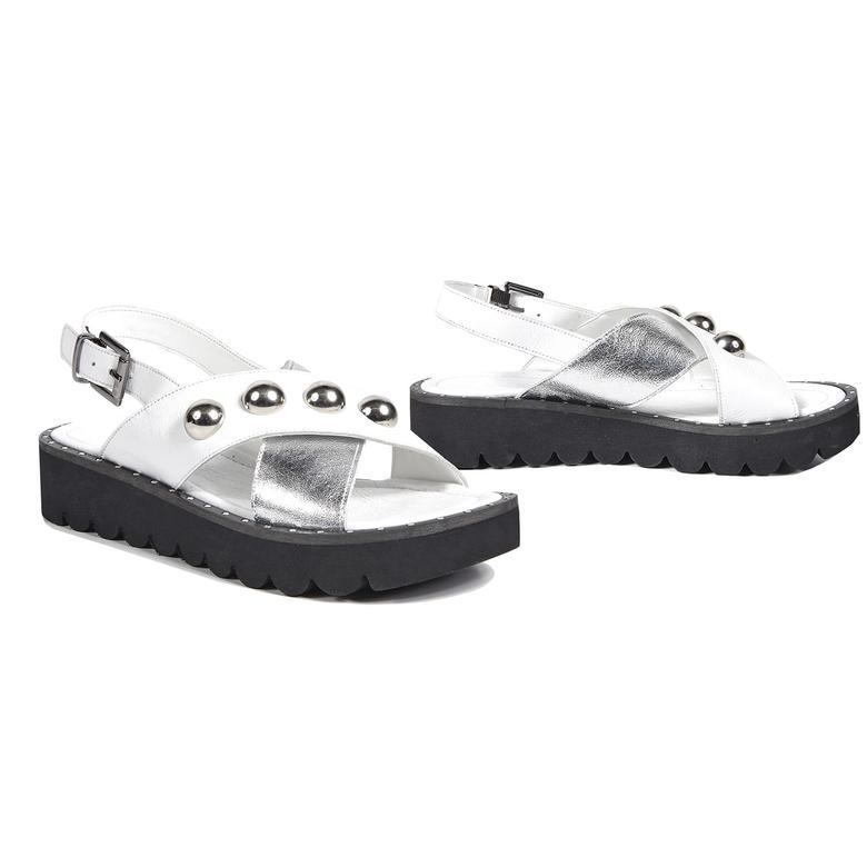Inez Kadın Deri Sandalet 2010042909007