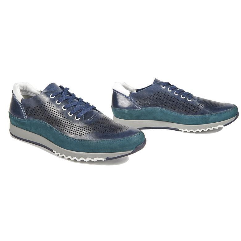 Damon Erkek Deri Spor Ayakkabı 2010042929004