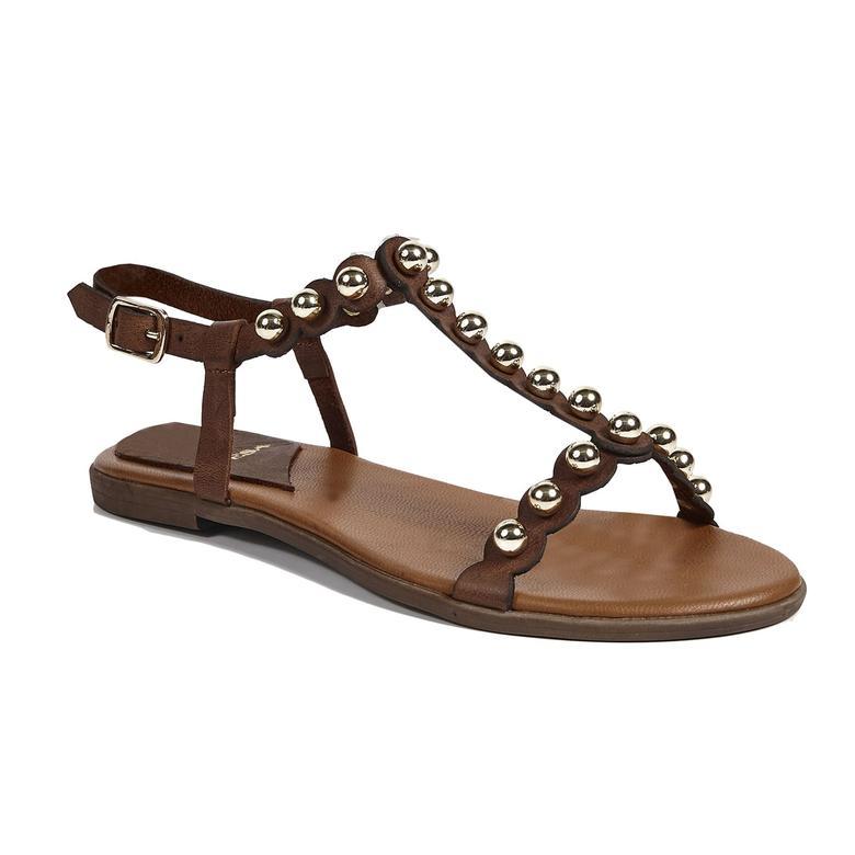 Lea Kadın Deri Sandalet