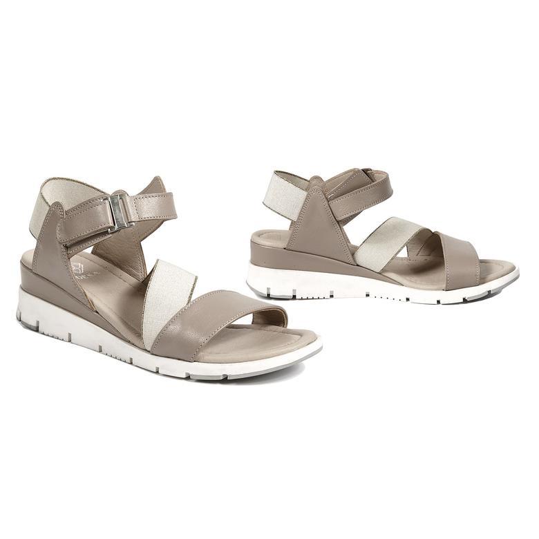 Caroline Kadın Deri Sandalet 2010042889010