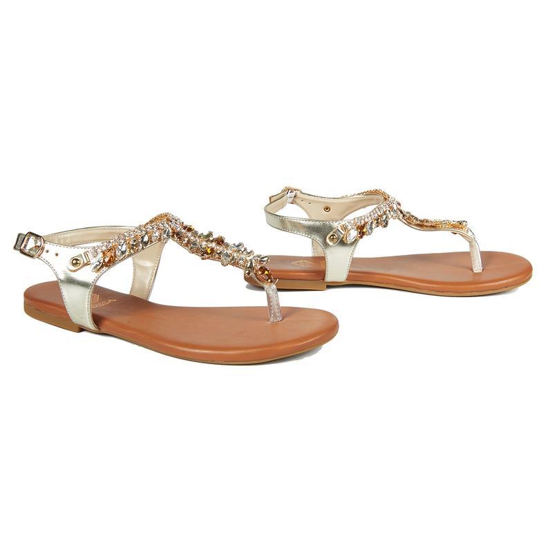 Tempest Kadın Deri Sandalet 2010042894007