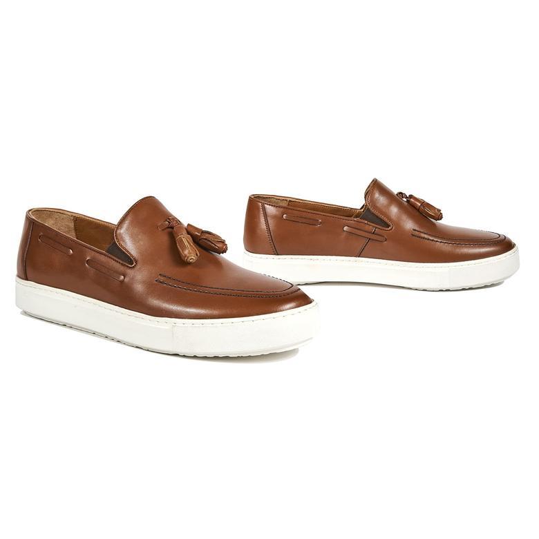 Hermoso Erkek Deri Günlük Ayakkabı 2010042849003