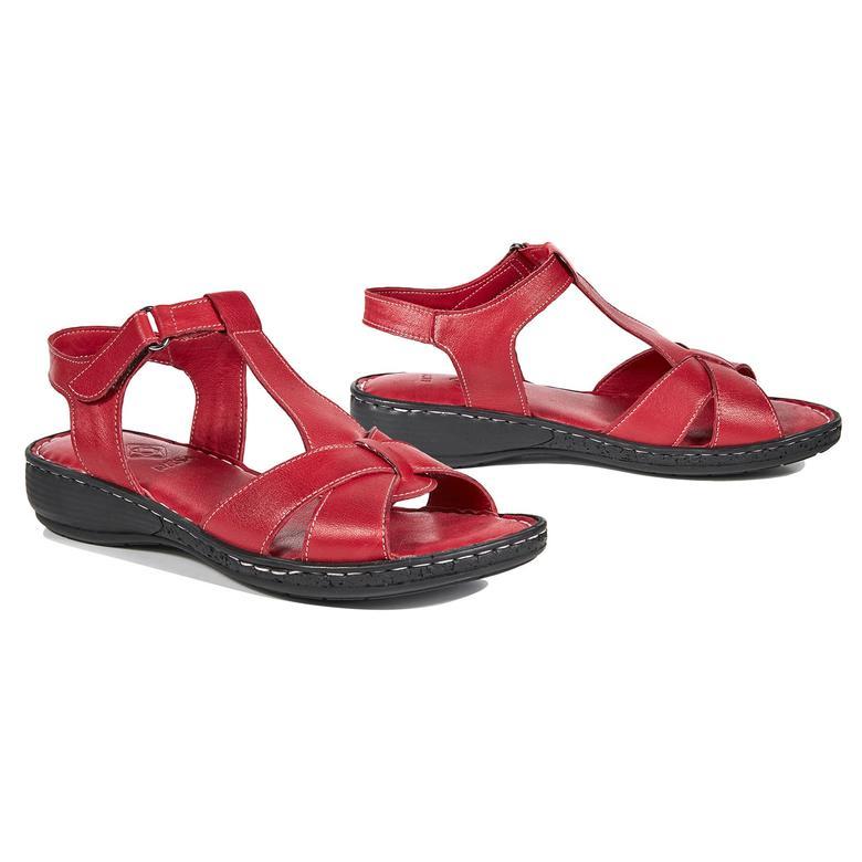 Amara Kadın Deri Sandalet 2010042785002
