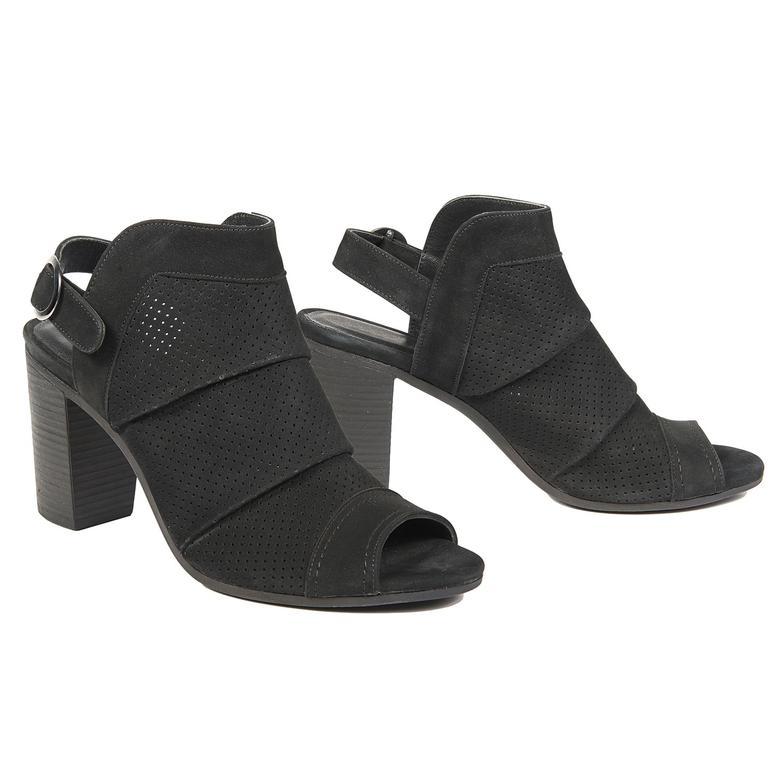 Beryl Kadın Deri Bootie Sandalet 2010042940001