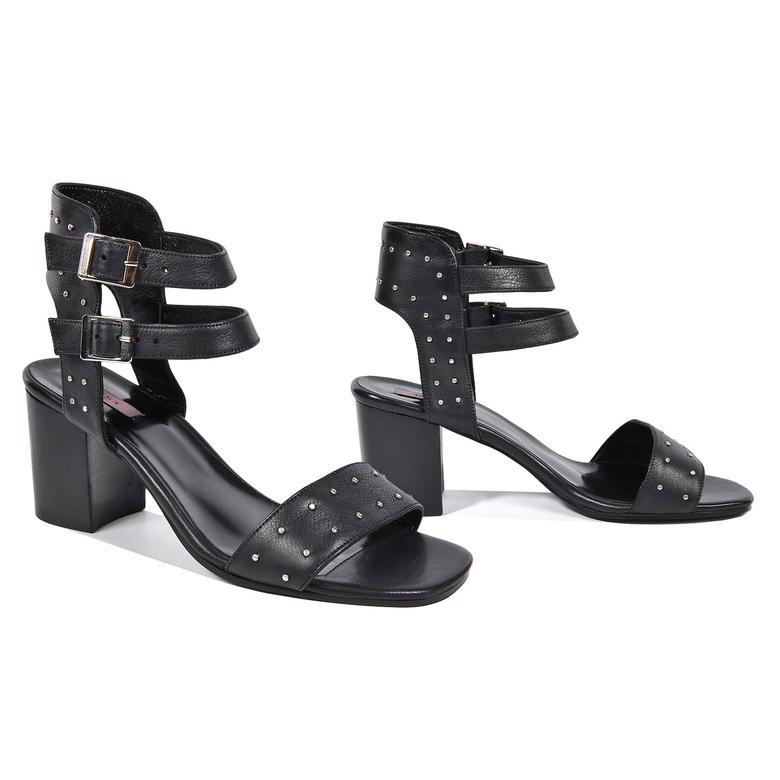 Haylee Kadın Deri Topuklu Sandalet 2010042951002