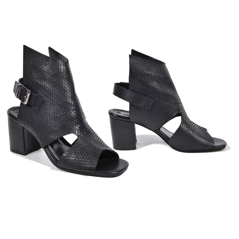 Ignis Kadın Deri Bootie Sandalet 2010042952003
