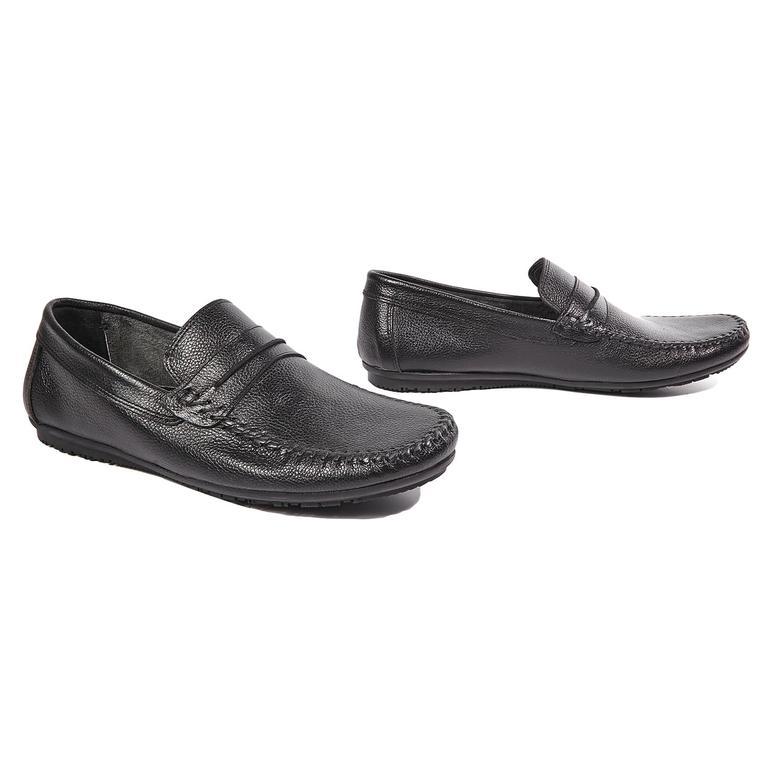 Miguel Erkek Deri Günlük Ayakkabı 2010042973005