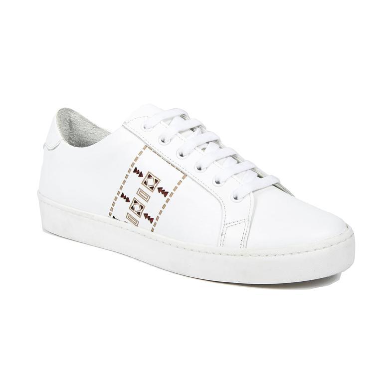 Aden Kadın Deri Spor Ayakkabı 2010042978001