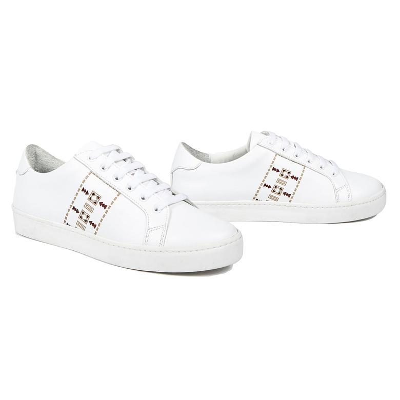 Aden Kadın Deri Spor Ayakkabı 2010042978002