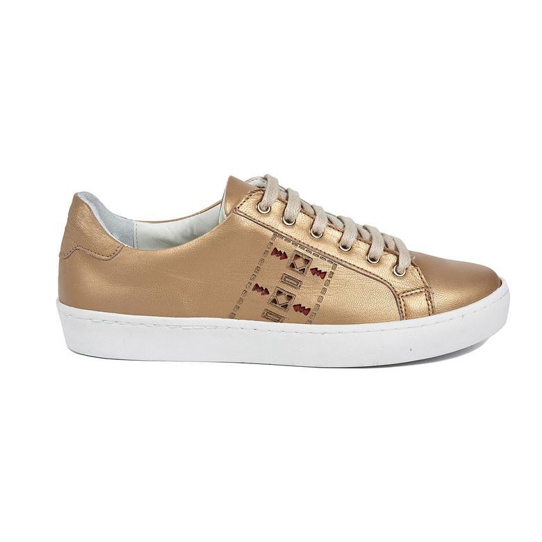 Aden Kadın Deri Spor Ayakkabı 2010042978006