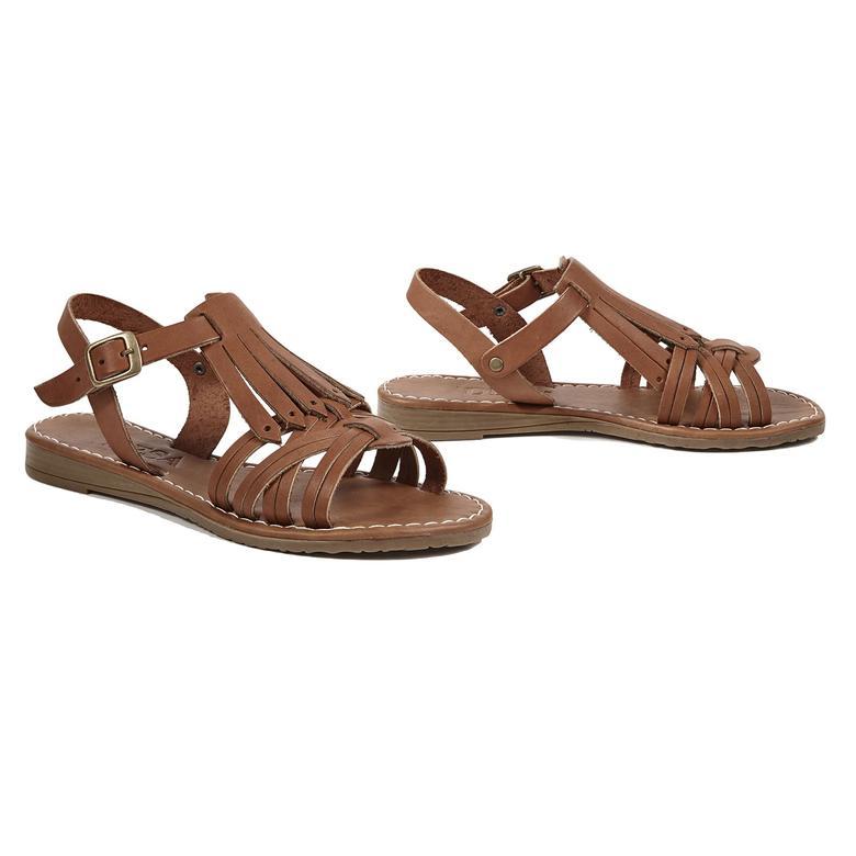 Spencer Kadın Deri Sandalet 2010042529002