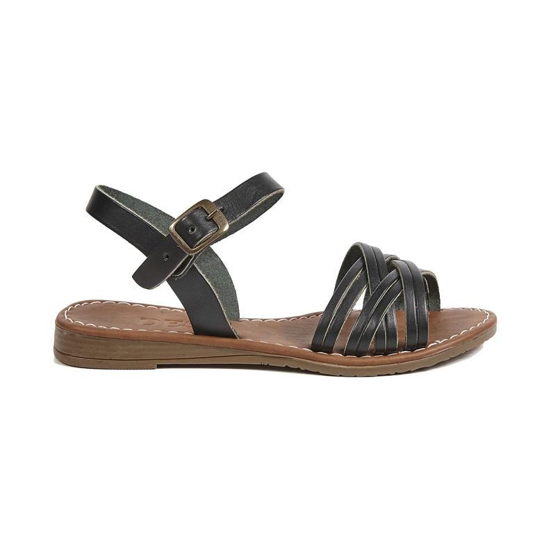 Sia Kadın Deri Sandalet 2010042533002