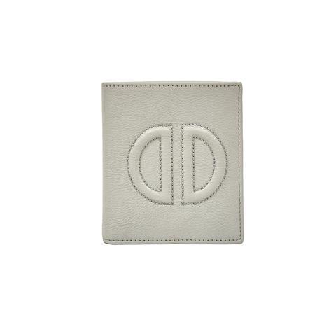 D Logolu Kadın Deri Cüzdan 1010026354002