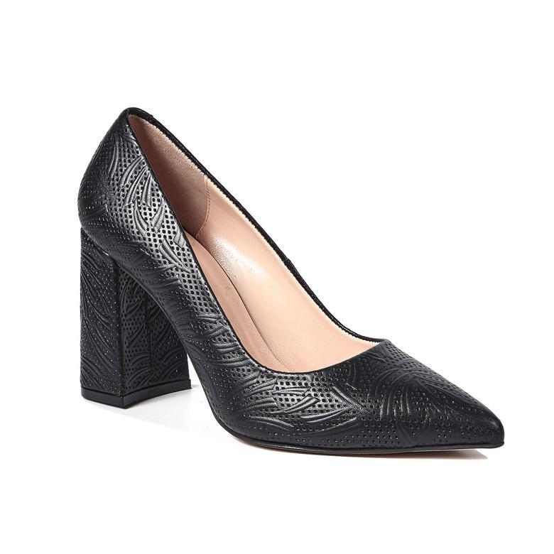 Esther Kadın Deri Klasik Topuklu Ayakkabı 2010042646001