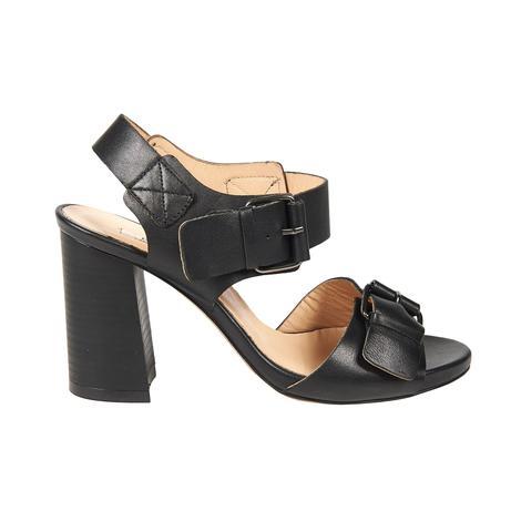 Chiara Kadın Deri Topuklu Sandalet 2010042650002