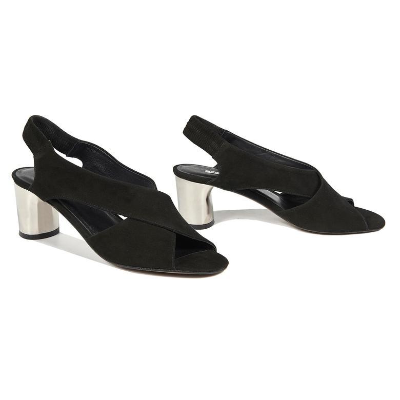Carson Kadın Deri Topuklu Sandalet 2010042732007