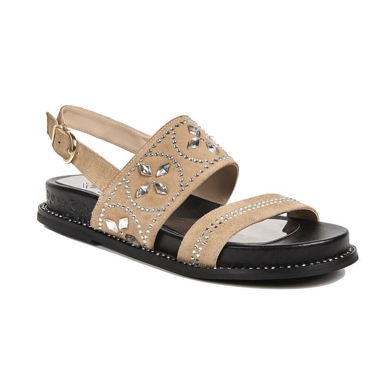 Nara Kadın Deri Sandalet 2010043020007