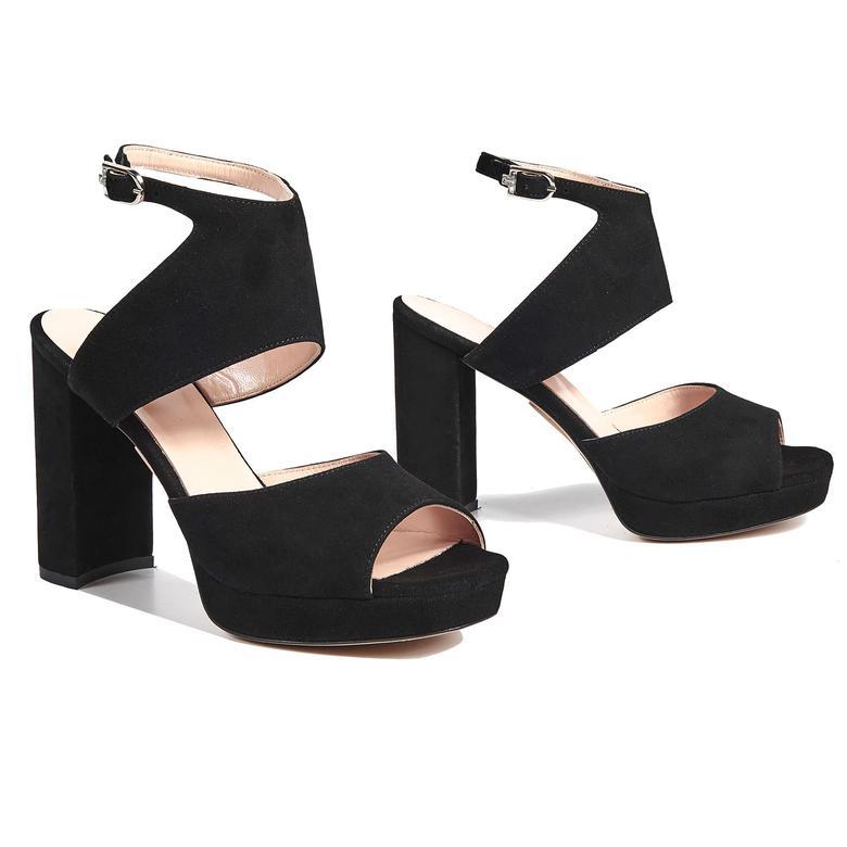 Aurora Kadın Deri Topuklu Sandalet 2010043058001