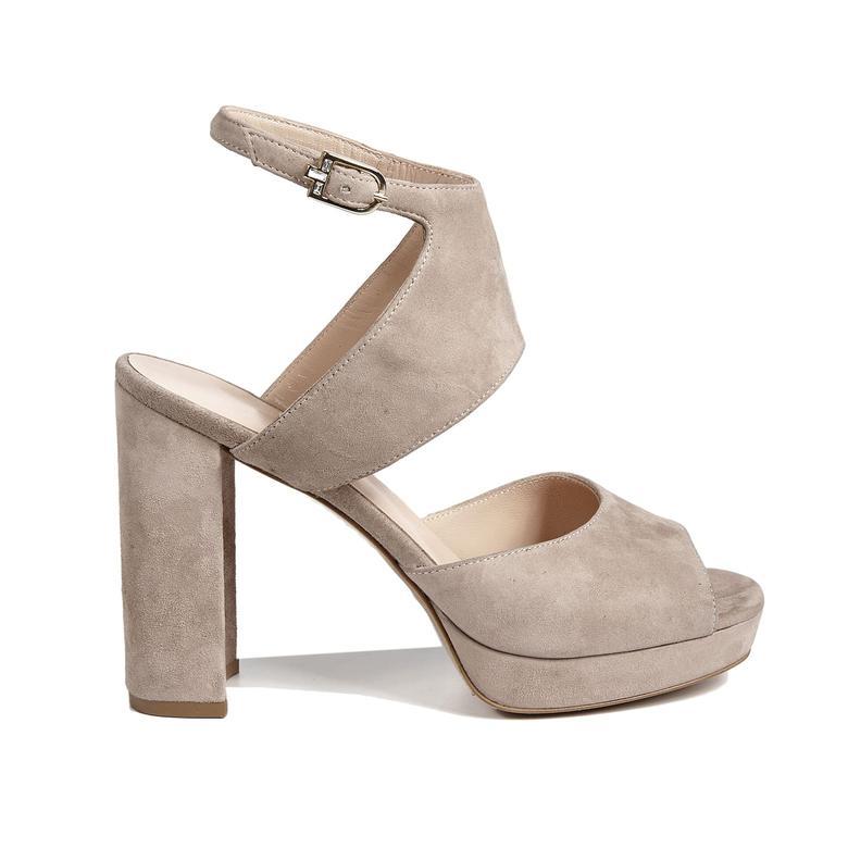 Aurora Kadın Deri Topuklu Sandalet 2010043058008