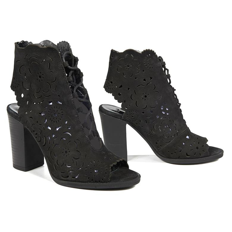 Blossom Kadın Deri Bootie Sandalet 2010042555011