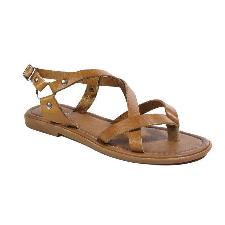 Kayla Kadın Deri Sandalet 2010043089009