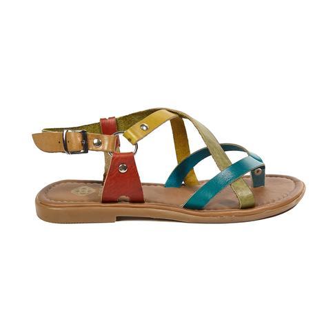 Kayla Kadın Deri Sandalet 2010043089011
