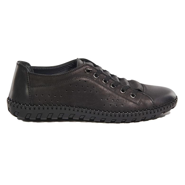 Haynes Erkek Deri Günlük Ayakkabı 2010043098001