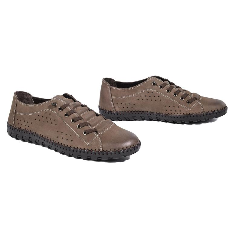 Haynes Erkek Deri Günlük Ayakkabı 2010043098019