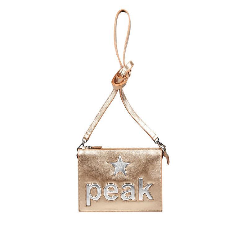 Peak Kadın Deri Omuz Çantası 1010025844002