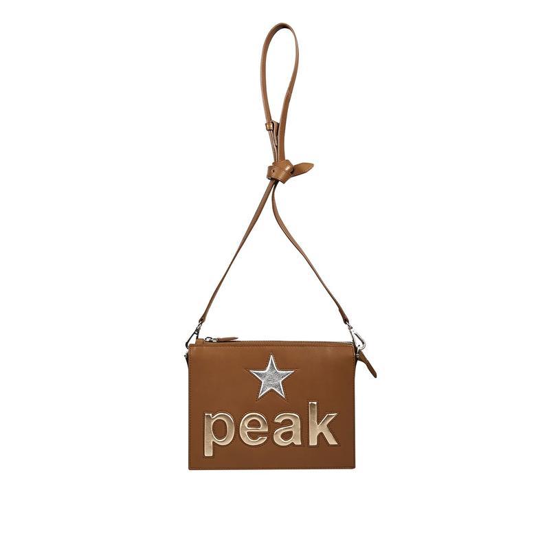 Peak Kadın Deri Omuz Çantası 1010025844001