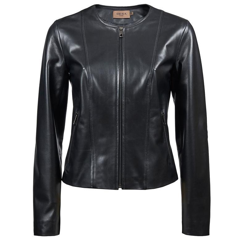 Derrix Kadın Deri Ceket