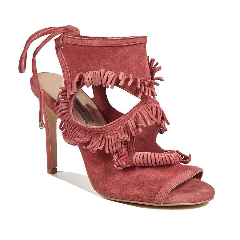 7ba59e1893f52 Kırmızı Betty Kadın Deri Topuklu Ayakkabı 2010041082 | DESA