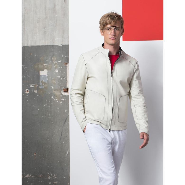 Liam Erkek Deri Ceket