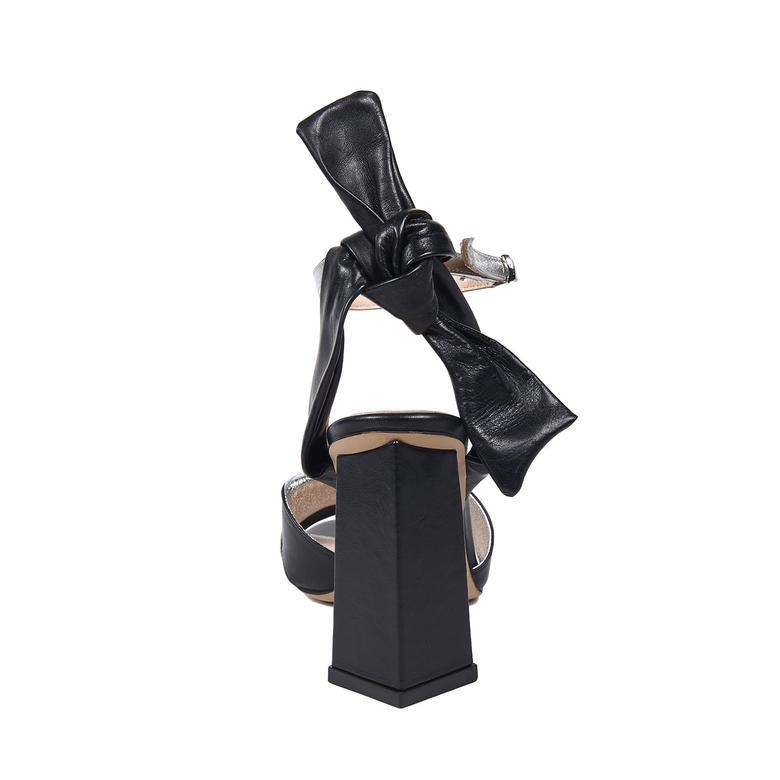 1972 Cicily Kadın Deri Sandalet 2010043262005