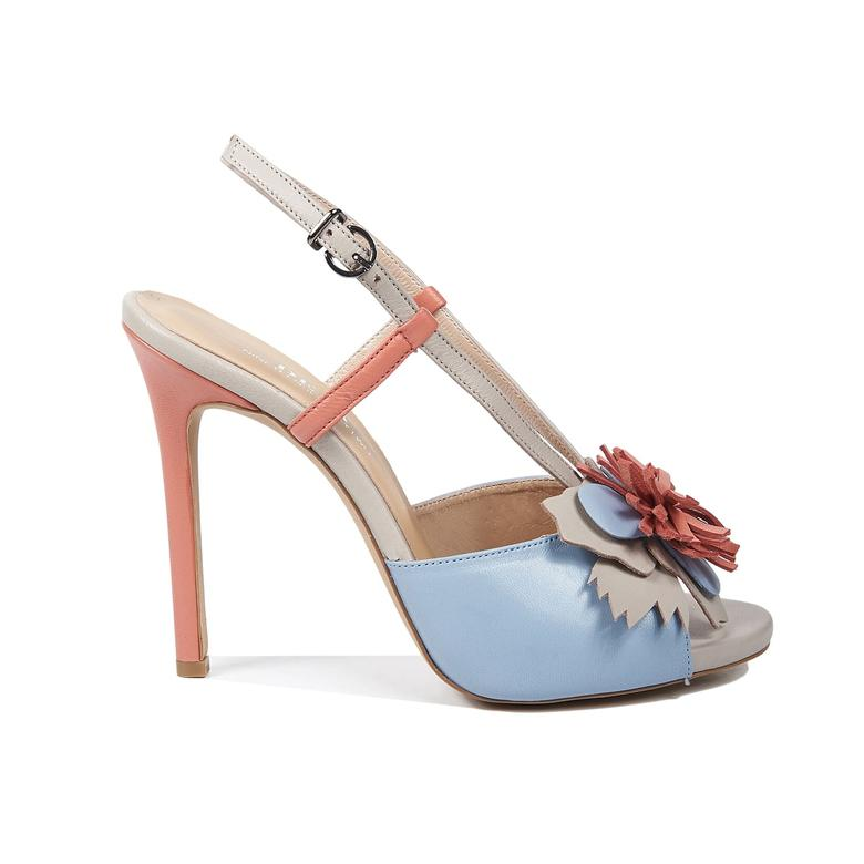 1972 Sandra Kadın Deri Sandalet 2010043268012