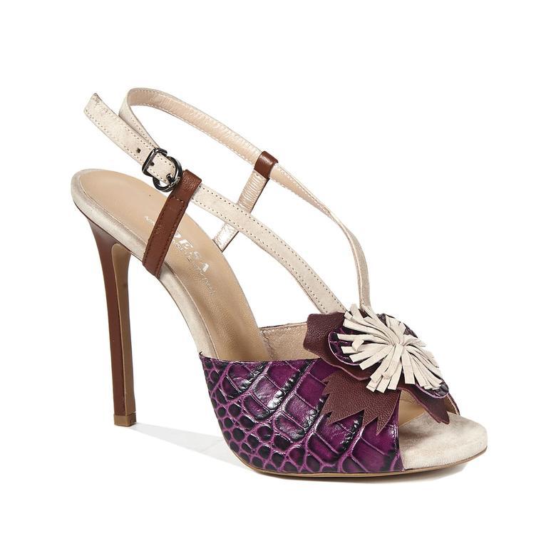 1972 Sandra Kadın Deri Sandalet 2010043268016