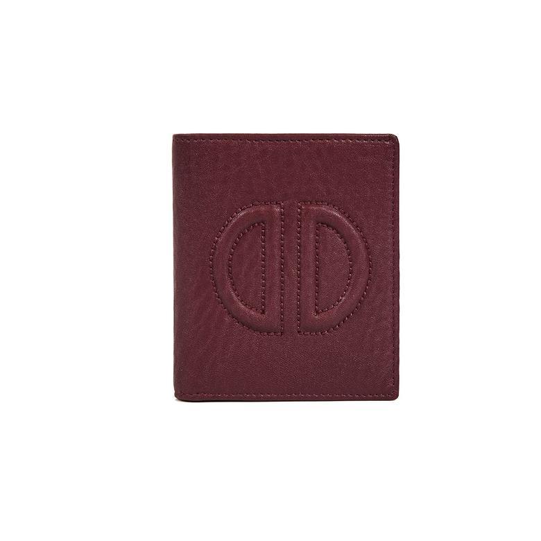 D Logolu Kadın Deri Cüzdan 1010026354006