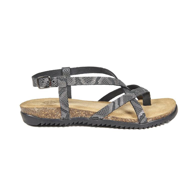 Boston Kadın Deri Sandalet