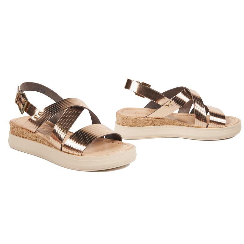 Kadın Deri Sandalet 2010041420006