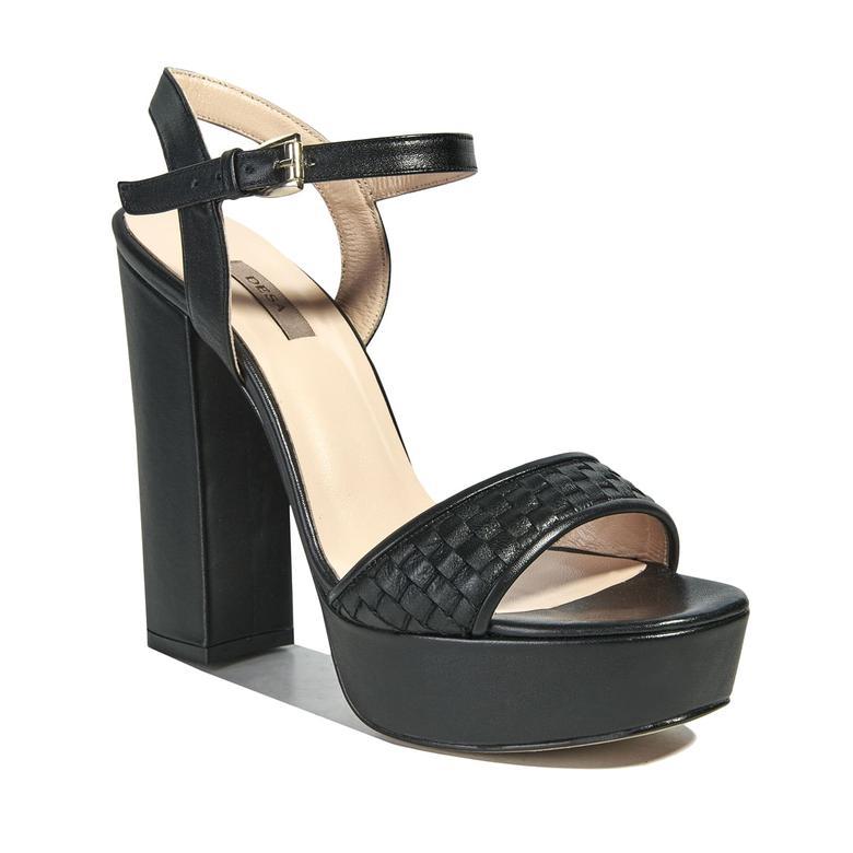 Salsa Örgü Desenli Kadın Sandalet 2010040931003