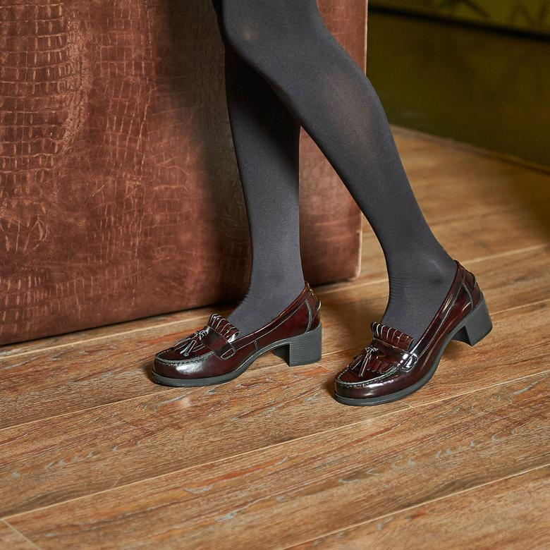 Kadın Günlük Deri Ayakkabı 2010040249007