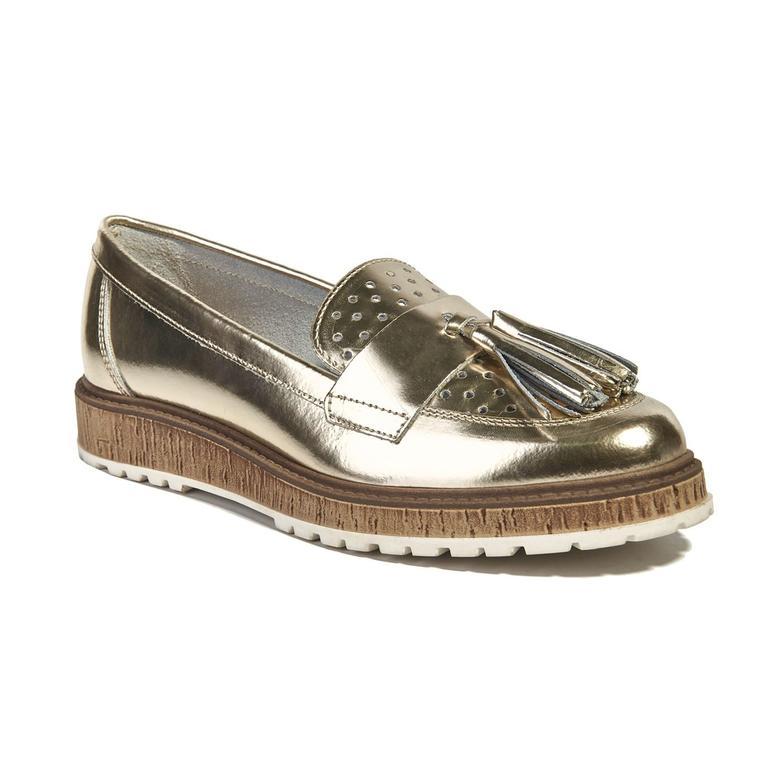 Polin Kadın Deri Günlük Ayakkabı