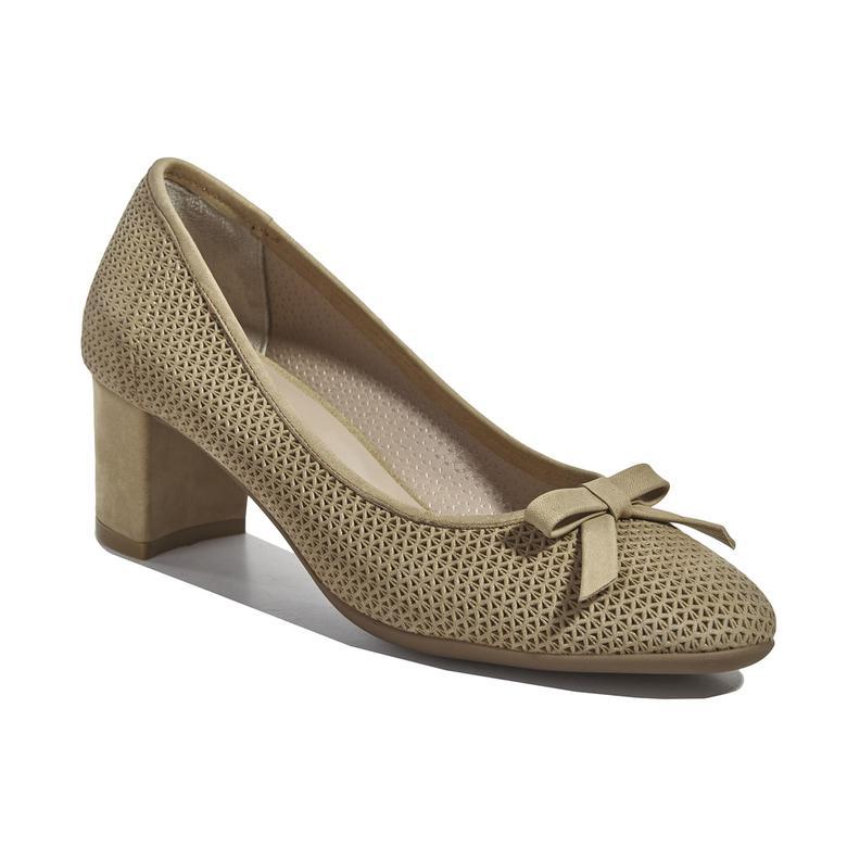 Osha Kadın Deri Klasik Topuklu Ayakkabı 2010040727001