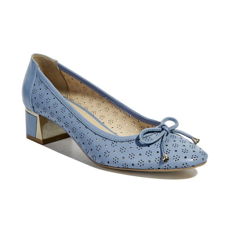 Belcon Kadın Deri Klasik Topuklu Ayakkabı 2010040979013