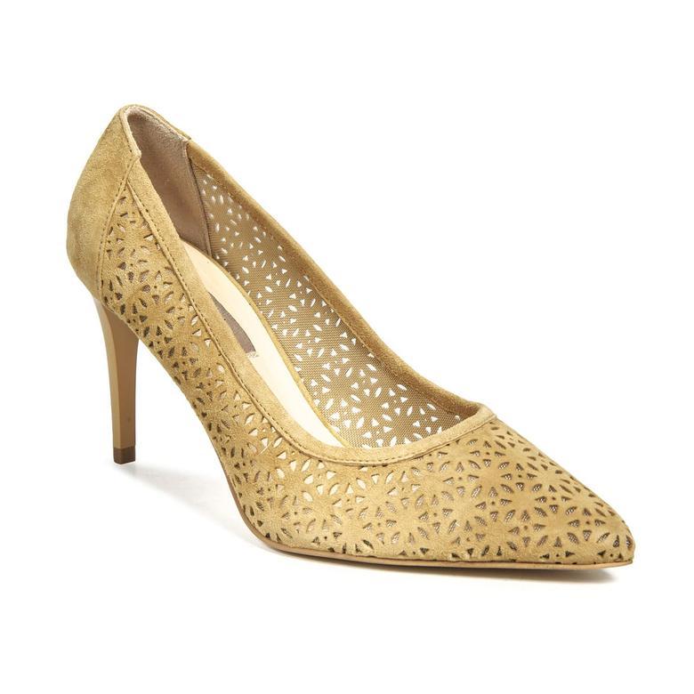 Dehli Kadın Deri Klasik Topuklu Ayakkabı 2010040981008