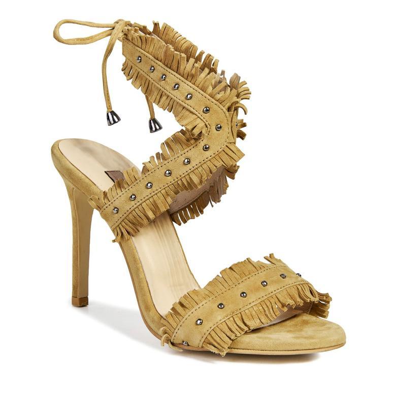 Anka Kadın Deri Topuklu Ayakkabı 2010041080006